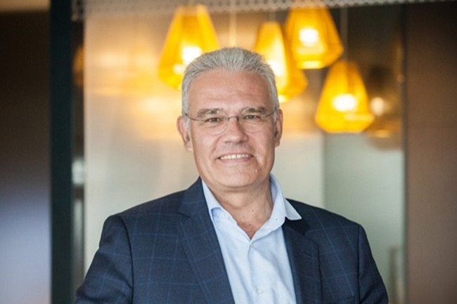 Egalement président du Cigref élu en 2016, Bernard Duverneuil est, depuis mars 2018, le Group Chief Digital and Information Officer du groupe Elior. (Crédit : Alexia Perchant)