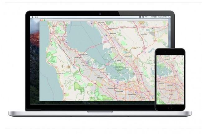 Parmi les frameworks supportant déjà JavaFX 13 figure le composant de création de cartes géographiques Gluon Maps. (Crédit : Gluon)