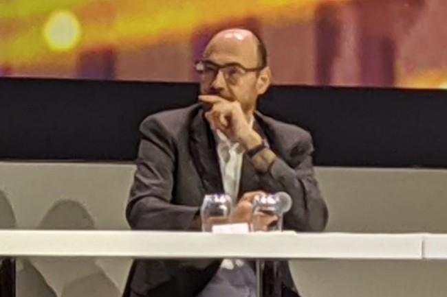 Laurent Le Prieur, sous-directeur du socle numérique au ministère de l'Education Nationale. (crédit : D.F.)