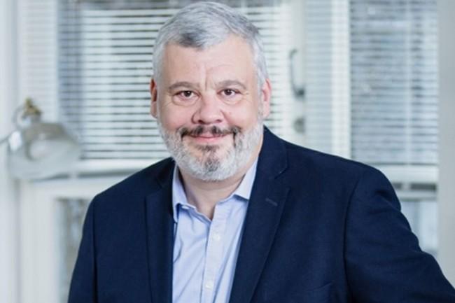 Arrivé chez Qwant en juin 2018, Tristan Nitot en devient le directeur général. Il est connu pour s'être longtemps impliqué dans la fondation Mozilla et son navigateur Firefox. (Crédit : Qwant)