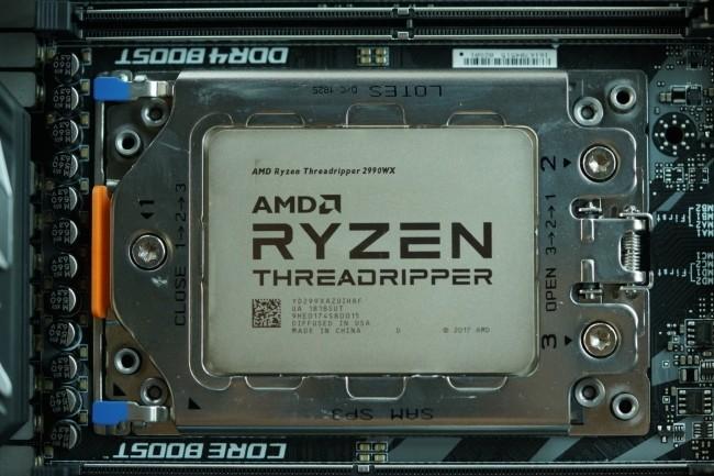 La nouvelle génération de puce Threadripper d'AMD officialisée. (Crédit : AMD)