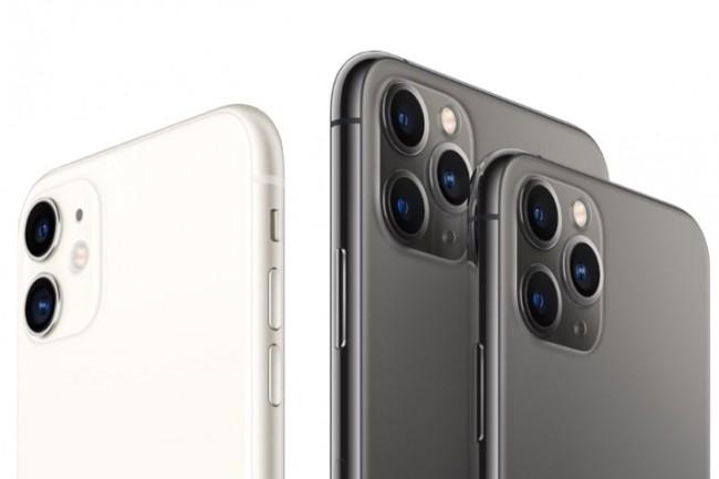 Les iPhone 11 arrivent avec le support du protocole WiFi 6. (Crédit Apple)