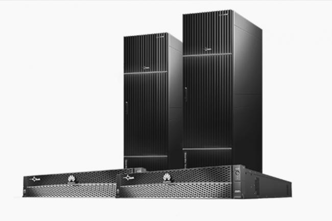 Comme sur ses prochains serveurs, Huawei est obligé de miser sur des puces ARM-64 pour équiper ses dernières baies de stockage full-flash OceanStor Dorado v5. (Crédit Huawei)