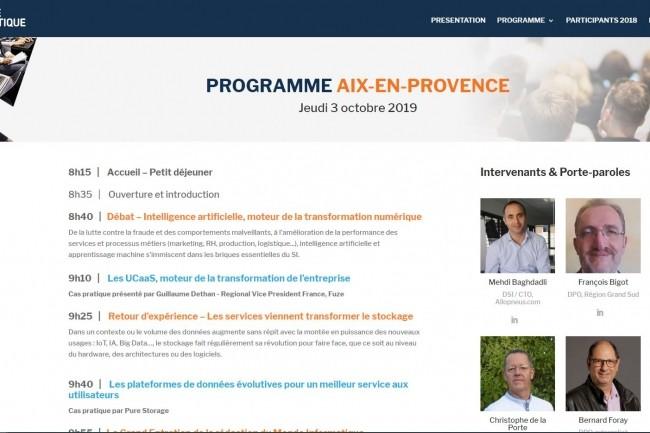La matinée IT Tour du 3 octobre va se dérouler à Aix à l'Hôtel Renaissance. (crédit : D.R.)