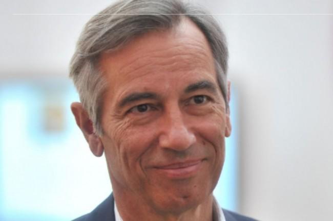 Godefroy de Bentzmann, président de Syntec Numérique, a fait de la reconversion une priorité pour répondre au défi du secteur numérique. Crédit. D.R.