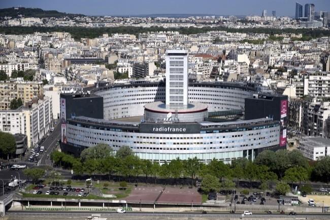 La dernière infrastructure IP de la Maison de la Radio est adaptée aux exigences de la production et de la diffusion de contenus radiophoniques. (crédit : Christophe Abramowitz)