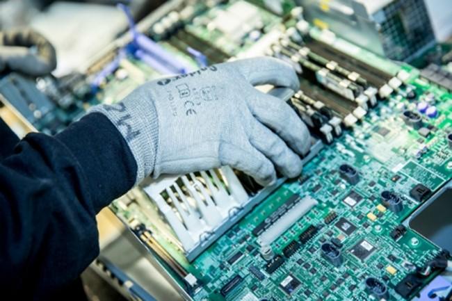 ATF Gaia s'attend à réaliser 2,5 à 3 M€ de chiffre d'affaires à travers son activité de revente de serveurs de seconde main et de pièces détachées d'occasion pour serveurs l'an prochain. Crédit photo : D.R.