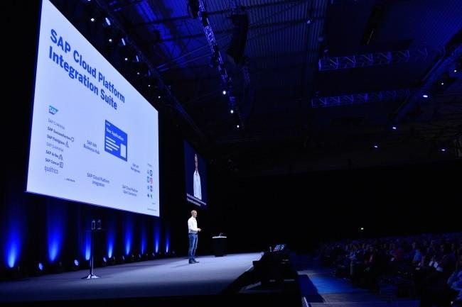 Juergen Mueller, CTO de SAP SE : « La connexion aux environnements du secteur public représente le premier usage de SAP Cloud Platform Integration. » (Crédit : SAP/Gisela Dienersberger)