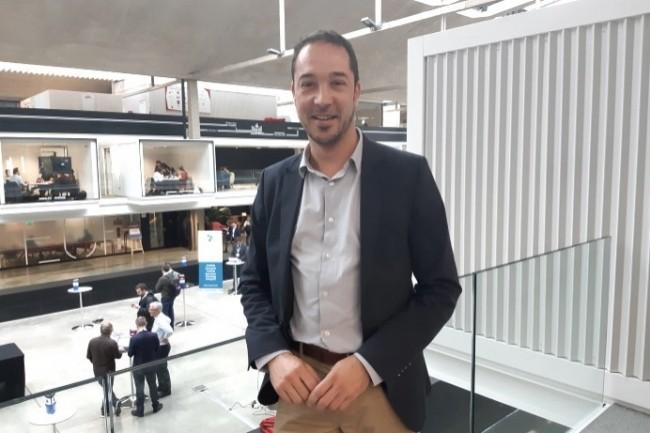 David Bojczuk, DSI de Ingredia (Groupe Prospérité Fermière), a eu l'idée de la blockchain pour accroître la traçabilité des produits.
