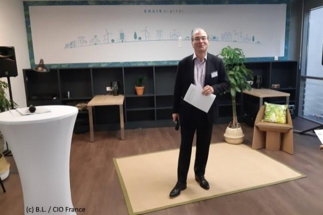 Yves Le G�lard, directeur g�n�ral adjoint d�Engie, a rappel� les engagements �cologiques d�Engie servis par le Digital.