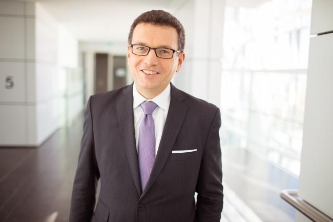 Helmut Reisinger, CEO d'Orange Business Services, a fixé le cap pour les prochains mois autour du cloud, de la cybersécurité et de l'IoT. (Crédit Photo: OBS)