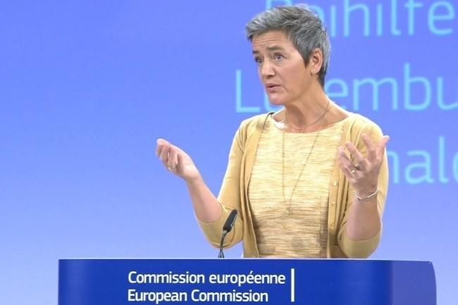 La commissaire européenne à la concurrence a dégainé l'arme des mesures conservatoires contre Broadcom pour interdire des clauses d'exclusivité. (Crédit Photo: DR)