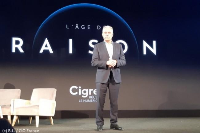 Bernard Duverneuil, président du Cigref, a assuré l'introduction et la conclusion de la soirée de l'AG de l'association.