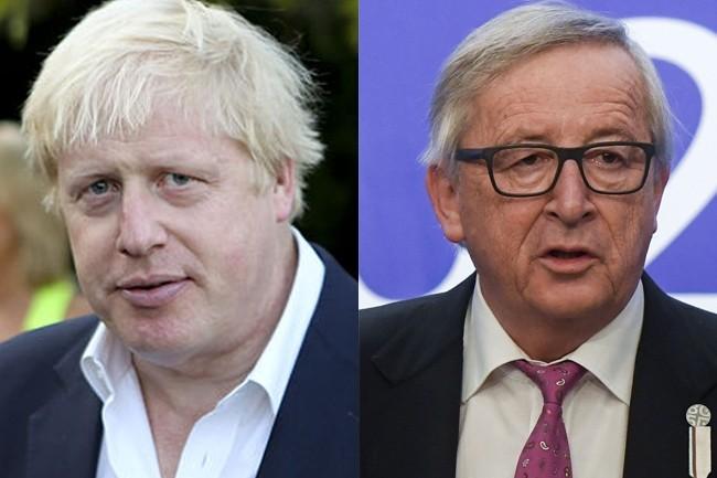 Le Premier ministre britannique, Boris Johnson, et le président de la Commission européenne, Jean-Claude Juncker, sont parvenus à un accord. Encore faut-il qu'il soit voté par le Parlement britannique. (Crédit : Wikipedia)