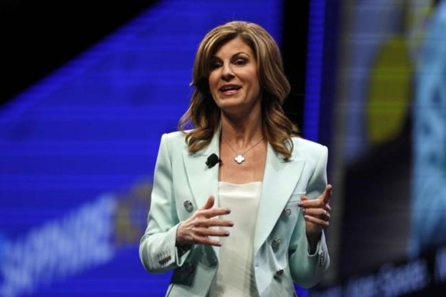 « Nous savons que beaucoup de clients font tourner leurs applications chez AWS et Google Cloud. Ils auront toujours la possibilité de travailler avec l'opérateur de cloud public de leur choix », prévient Jennifer Morgan, le Co-CEO de SAP. Crédit photo : D.R.