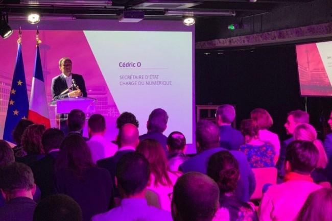 Cédric O, secrétaire d'Etat chargé du Numérique a précisé les contours du programme d'accompagnement FT120 dédiées aux start-ups françaises à très forte croissance. (crédit : D.R.)