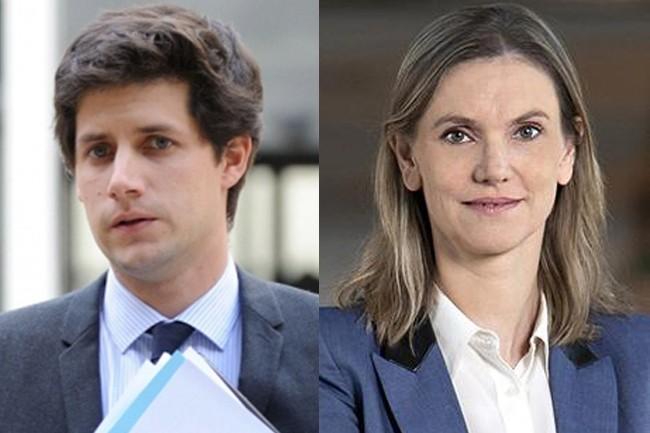 Le ministre chargé de la Ville et du Logement, Julien Denormandie, et la secrétaire d'Etat auprès du ministre de l'Economie et des Finances, Agnès Pannier-Runacher, ont fait un point d'étape du Plan France THD le 16 octobre. (Crédit : Gouvernement)