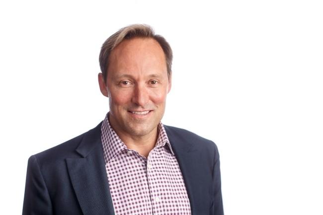 Doug Merrit, CEO de Splunk, a tenté de dédramatiser la persistance des silos de données dans une logique de cloud. (Crédit Photo : Splunk)
