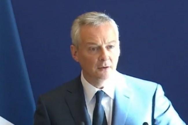 « Nous voulons établir une infrastructure de données européennes sûre et souveraine », affirme Bruno Le Maire, ministre de l'Economie, dans un communiqué conjoint avec son homologue allemand. (Crédit : Economie.gouv)