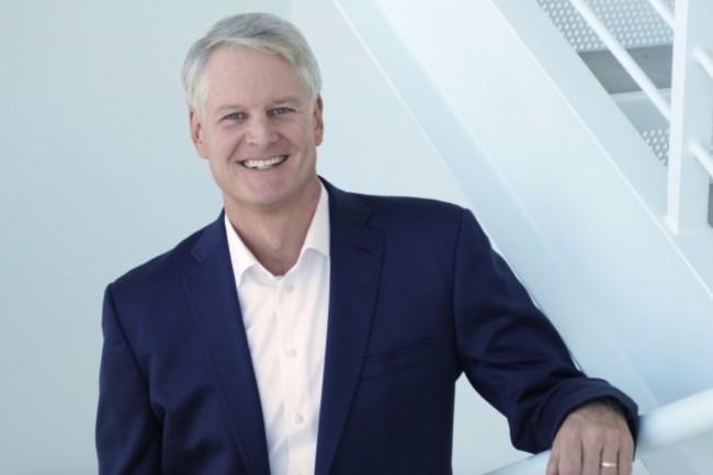 Pour quelques semaines, ServiceNow est encore sous la direction de John Donahoe qui va bientôt céder sa place de CEO à Bill McDermott. (Crédit : ServiceNow)