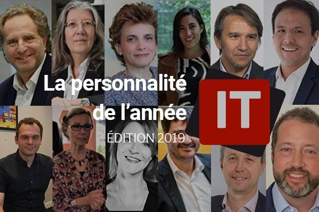 Qui sera élu(e) personnalité IT de l'année 2019 ? (crédit : LMI)