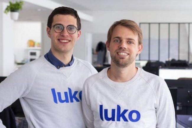 Les co-fondateurs de l'assurtech Luko, Benoît Bourdel (à gauche), directeur technique de la société, et Raphaël Vullierne, son PDG, veulent contribuer au succès des néo assurances en France. (Crédit : Luko)
