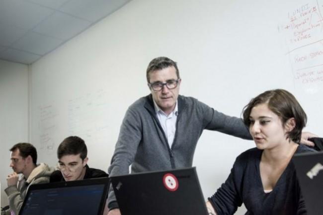Simplon veut démocratiser l'apprentissage de la programmation informatique en Seine-Saint-Denis. Crédit. Simplon.