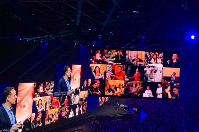 Cette année Tableau a fait sa conférence utilisateurs et partenaires à Las Vegas juste avant DreamForce. (Crédit D.R.)