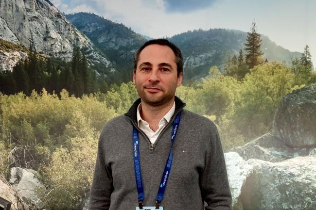 Chez Acteon depuis quatre ans, Olivier Blanc est CIO et en charge des clients de la medtech depuis un an. (Crédit : Nicolas Certes)