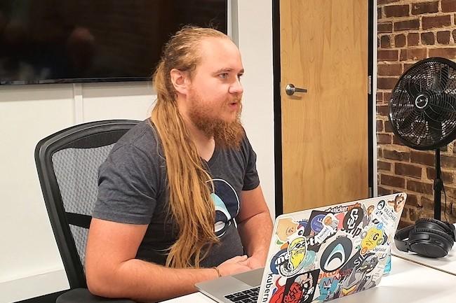 Fondateur et CEO de la jeune pousse Valohai, Eelo Laaksonen est venu s'installer à San Francisco pour commercialiser sa plateforme. (Crédit S.L.)