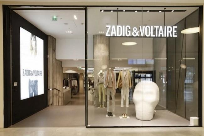 Avec la solution de Winddle, Zadig & Voltaire pilote en temps réel ses approvisionnements. (Crédit : Zadig & Voltaire)
