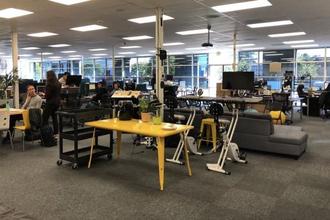 Les développeurs dans les start-ups, ici à Mountain View, sont particulièrement intéressées par les outils de gestion de projets. (Crédit S.L.)