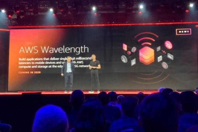 Verizon et Amazon pr�parent une offre cloud edge 5G bas�e sur AWS Wavelength. (Cr�dit D.R.)