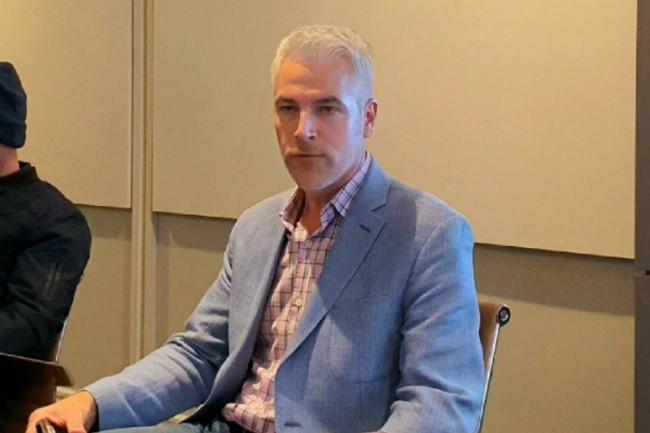 """""""Nos clients travaillent avec de vraiesdonnées maisavec la sécurité du chiffrement"""", explique AJJennings, leCEOet fondateur deShieldIO."""