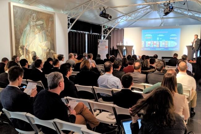 L'IT Tour 2019 à Bordeaux s'est déroulé à l'Institu Culturel Bernard Magrez le 6 décembre 2019. (crédit : D.F.)