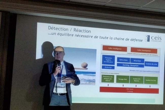 Vincent Riou, président du Club R2GS : « il faut trouver un équilibre dans la chaîne de cyberdéfense ».