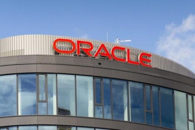 Oracle ne doit finalement la légère hausse globale de ses revenus trimestriels qu'à sa progression de 3% à 6,8 Md$ dans les domaines des services cloud et du support licence. (Crédit : D.R.)