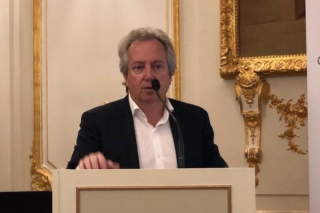 En avril dernier, le président de Cheops Technology, Nicolas Leroy-Fleuriot lançait l'automate visant à faciliter les migrations d'Oracle DB vers PostgreSQL. (Crédit S.L.)