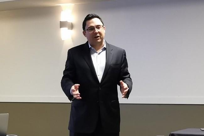 """""""La simplicité d'usage[pour la protection des données]est aujourd'hui très recherchée par les entreprises"""" assure Simon Taylor,CEOdeHycu."""