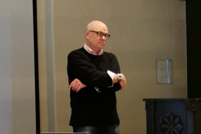 Chris Powell, le CMO de Commvault, mise sur Hedvig pour étendre le champ d'action de l'éditeur sur le marché du stockage. (Crédit S.L.)