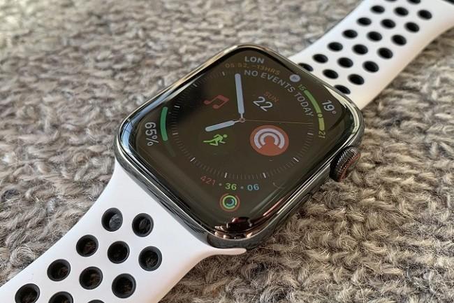 Le modem 4G est devenu une option à envisager lors de l'achat d'une Apple Watch Série 5. (Crédit IDG)
