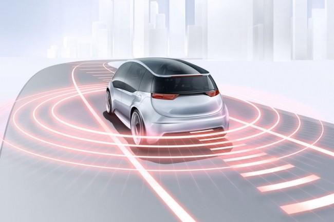 Chez Bosch, la panoplie de capteurs destinés à la conduite autonome est désormais complétée par l'arrivée d'un lidar. (Crédit Bosch)