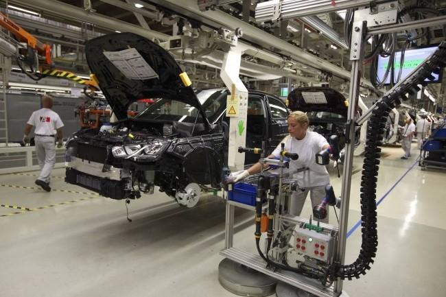 Des constructeurs automobiles comme Audi commencent à tester la 5G dans leurs usines. (Crédit Audi)