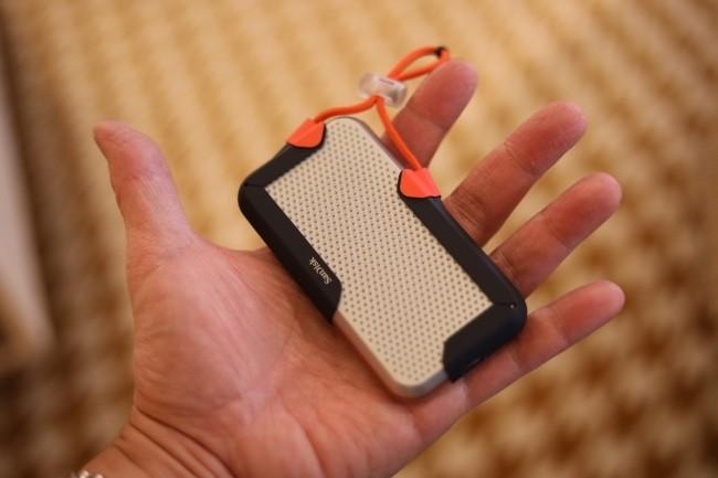 Le prototype de SSD portable de WD affiche une capacité record de 8 To. (Crédit Photo : IDG)