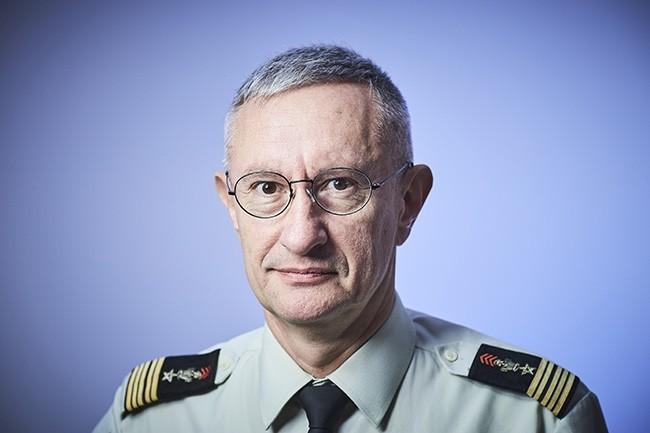 Le Colonel Claude Chary, responsable num�rique de l�Arm�e de Terre, a r�pondu � nos questions lors de sa venue � la CIO.conf�rence Digital Workplace. (Cr�dit : Bruno Levy)