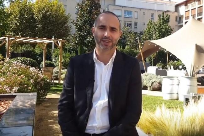 Medhi Baghdadli, DSI et CTO d'Allopneus sur l'IT Tour Aix en Provence organisé à l'Hôtel Renaissance le 3 octobre 2019. (crédit : LMI)