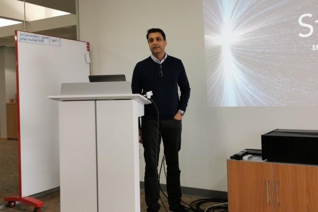 Mihir Shah, CEO de Storcentric, a constitué un puzzle technologique avec les rachats de Drobo, Retrospect, Nexsan et Vexata. (Crédit S.L.)