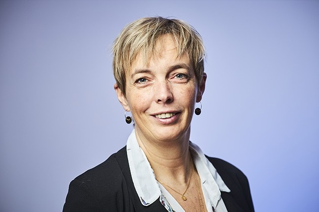 Caroline Desmaretz (Membre du Cigref) a r�pondu � nos questions lors de sa venue � la CIO.conf�rence Digital Workplace. (Cr�dit : Bruno Levy)