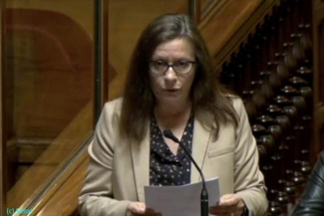 Christine Prunaud, sénatrice des Côtes-d'Armor, a posé une question au Gouvernement sur l'Open-Bar au Ministère des Armées.