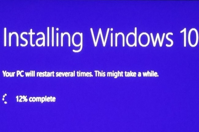 Pour ceux détenant une clé de licence Windows 7, il existe une solution pour mettre à niveau gratuitement son PC sur Windows 10. (Crédit Photo : Mark Hachman/IDG)